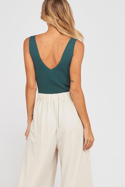 Move Along Ribbed Bodysuit - Poppy&Stitch