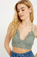 Crochet Lace Bralette - T. Grey - Poppy&Stitch