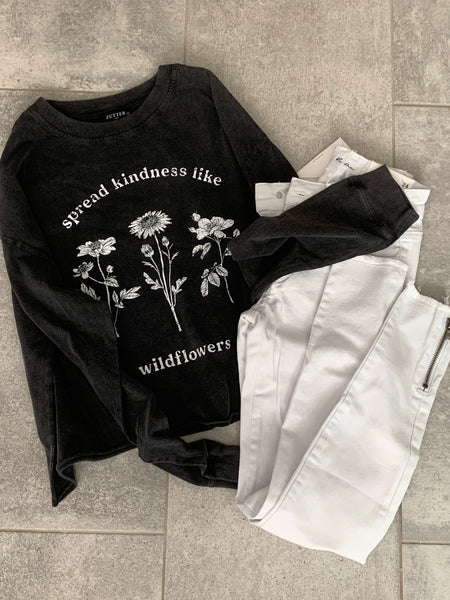 Wildflowers Distressed Tee