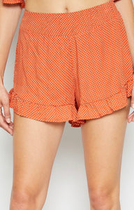 Sun Kissed Ruffle Shorts - Poppy&Stitch