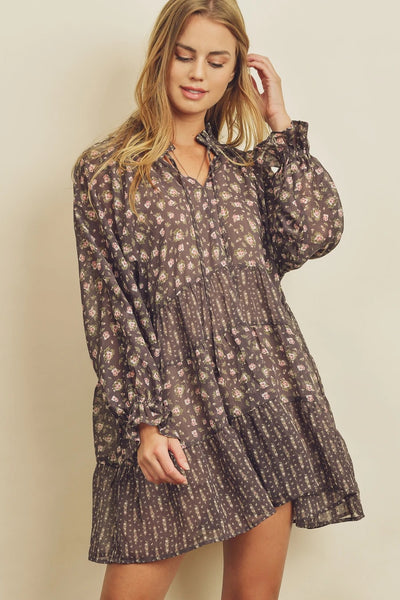 Rosie Tiered Babydoll Dress
