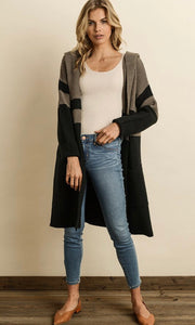 Pedicab Hooded Cardigan - Poppy&Stitch