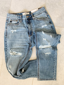 True Blue Vintage High Rise Denim