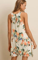Just Peachy Trapeze Dress - Poppy&Stitch