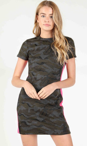 Highest Rank Camo Dress - Poppy&Stitch