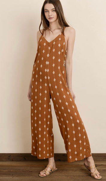 Diamond Print Culotte Jumper - Poppy&Stitch