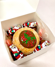 Load image into Gallery viewer, CHRISTMAS GIFT BOX - SINGLE FILLED DONUT