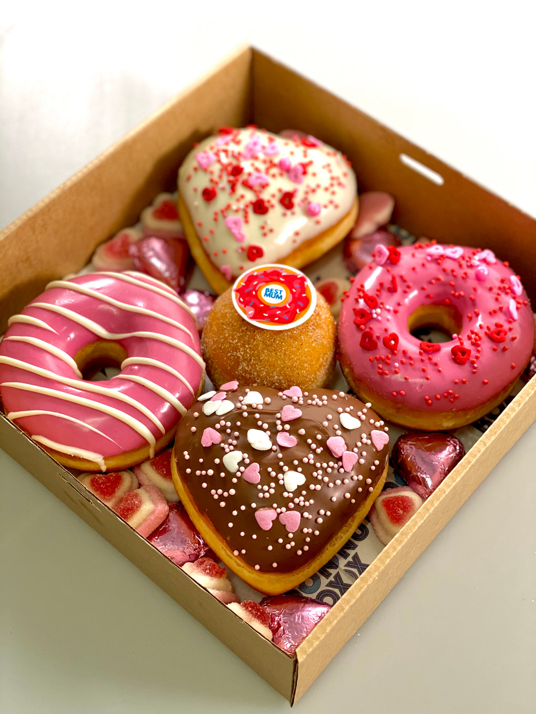 MUMS MIXED DONUT 5 PACK (BEST MUM)