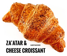Load image into Gallery viewer, 4 PACK CHEESE & ZAATAR CROISSANT