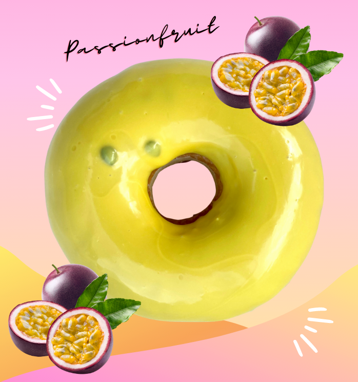 6 PACK PASSIONFRUIT ICED RINGS