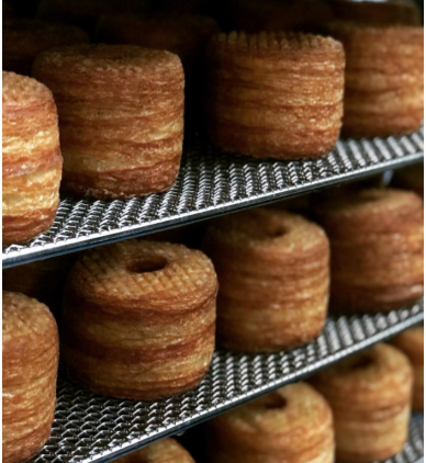 6 PACK PLAIN SUGARED CRONUTS