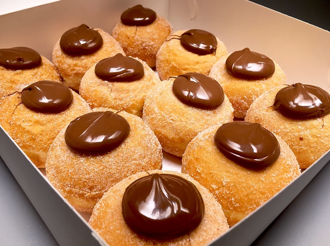 NUTELLA FILLED DONUTS (12 PACK)