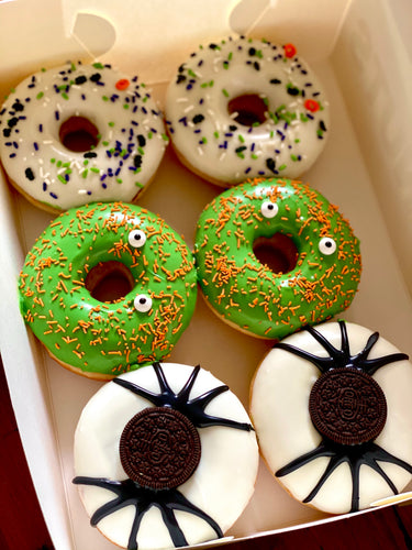 6 PACK HALLOWEEN ICED RINGS