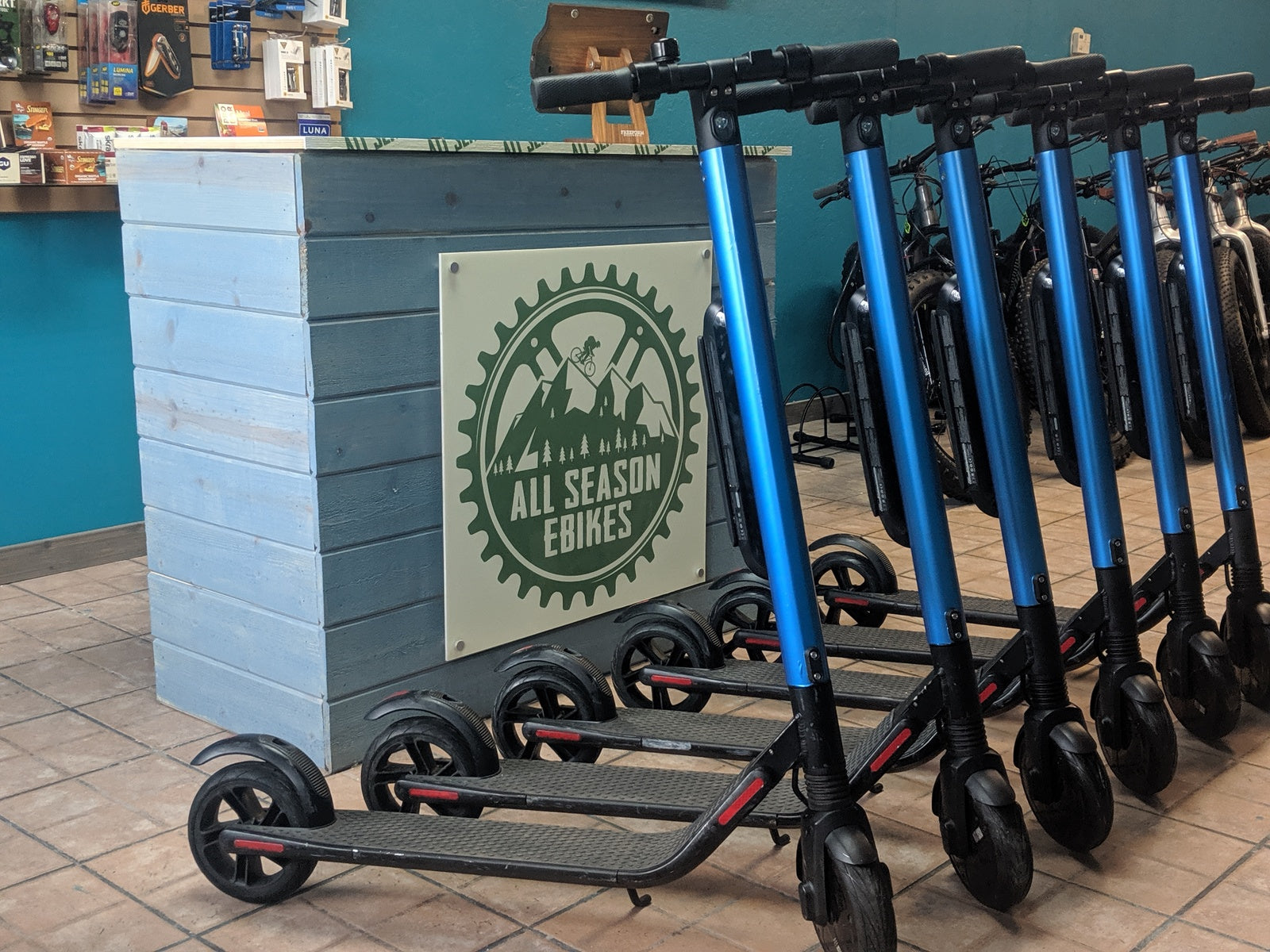 electric bike rentals and electric scooter rentals in big bear, ca