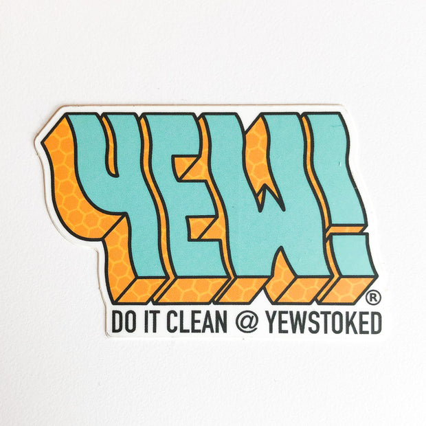 YEW! STICKER 5 PACK