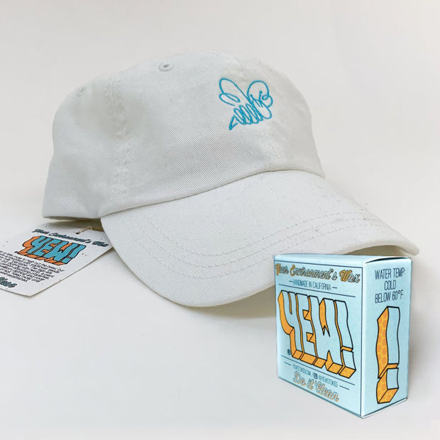 YEW! HONEYBEE HAT + WAX (GIFT BUNDLE)