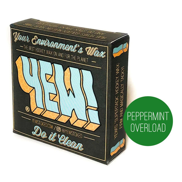 *SUPERTACK HOCKEY WAX* 3-PACK (Peppermint Overload Scent)