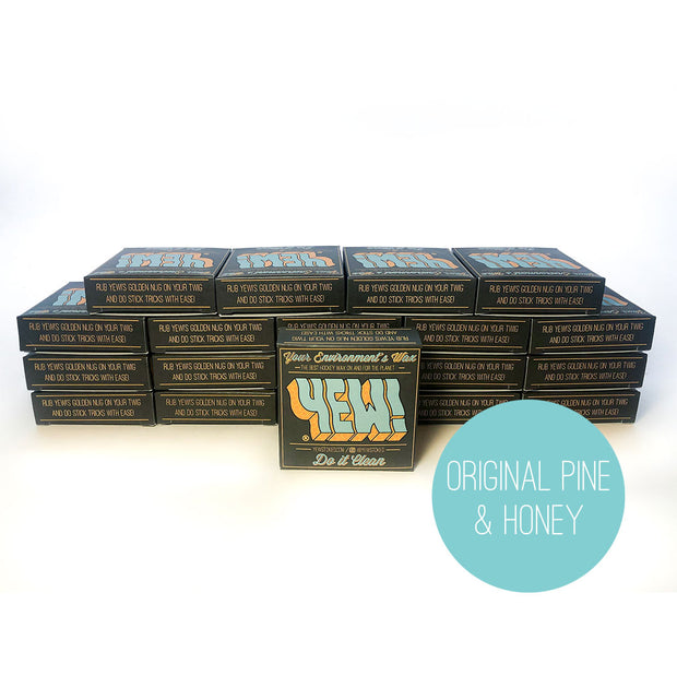 *SUPERTACK HOCKEY WAX* 20-PACK (Original Pine & Honey Scent)