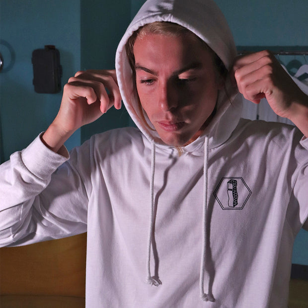 UPSIDE DOWN YEW! LIGHTWEIGHT HOODIE ¡ + WAX (GIFT BUNDLE)