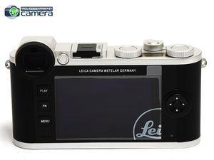 Leica CL Mirrorless Digital Camera Silver L-Bayonet Mount 19300 *BRAND NEW*