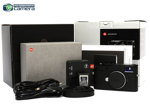 Leica M10-P Digital Rangefinder Camera Black 20021 *BRAND NEW*