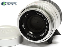Load image into Gallery viewer, Leica Summicron-M 35mm F/2 ASPH. Lens Silver 11674 *BRAND NEW*