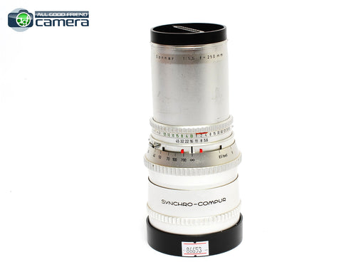 Hasselblad C Sonnar 250mm F/5.6 Lens Silver
