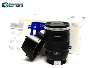 Carl Zeiss Distagon 35mm F/1.4 ZE T* Lens Canon Mount *MINT in Box*