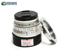 Load image into Gallery viewer, Leica Summaron 35mm F/2.8 Lens L39/LTM Screw Mount w/M Adapter