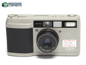 Ricoh GR1S Film P&S Camera Silver w/GR 28mm F/2.8 Lens