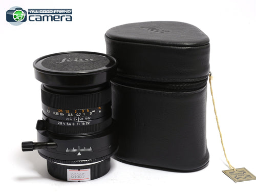 Leica PC-Super-Angulon-R 28mm F/2.8 Perspective Control Lens *EX+*