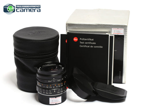 Leica Super-Elmar-M 21mm F/3.4 ASPH. E46 Lens Black 11145 *EX+ in Box*