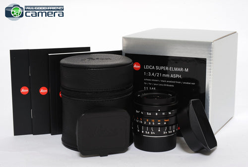 Leica Super-Elmar-M 21mm F/3.4 ASPH. Lens  Black 11145 *BRAND NEW*