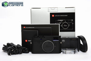 Leica M10 Monochrom Digital Rangefinder Camera 20050 *BRAND NEW*