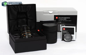 Leica APO-Summicron-M 50mm F/2 ASPH. Lens Black 11141 *BRAND NEW*