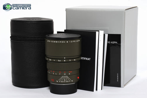 Leica APO-Summicron-M 90mm F/2 ASPH. Lens Edition 'Safari' Lens 11705 *BRAND NEW*