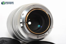 Load image into Gallery viewer, Leica APO-Summicron-M 75mm F/2 ASPH. Lens Silver Ltd. Edition 11701 *BRAND NEW*