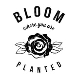 Bloom Tee - Vision City Design Studio