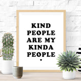 Kind People Print - Vision City Design Studio