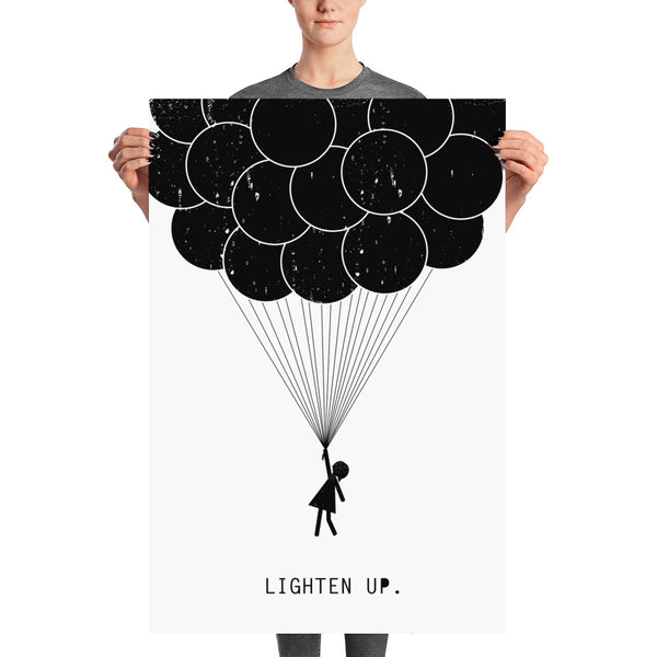 Lighten Up Poster - Vision City Design Studio