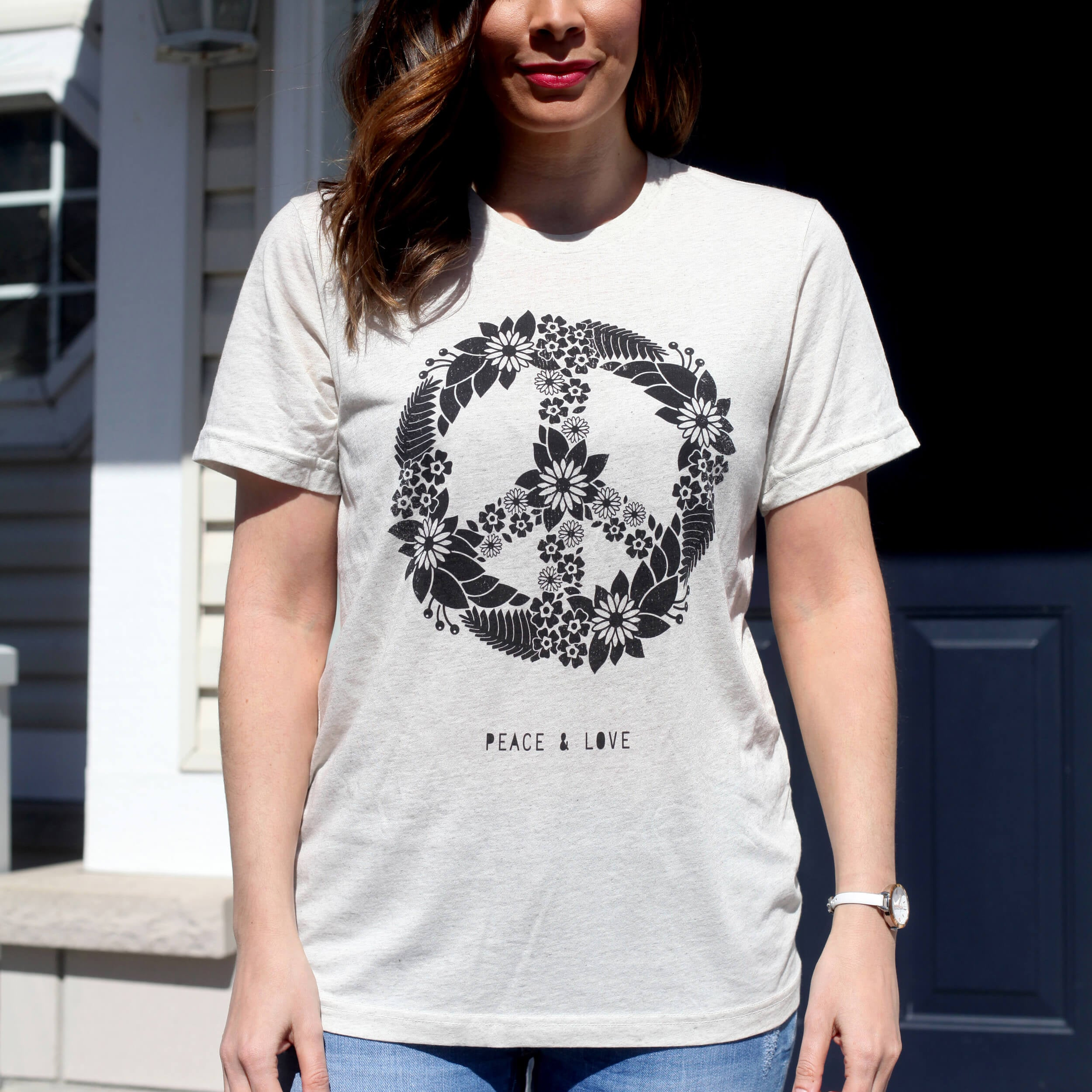 Peace and Love Tee - Vision City Design Studio