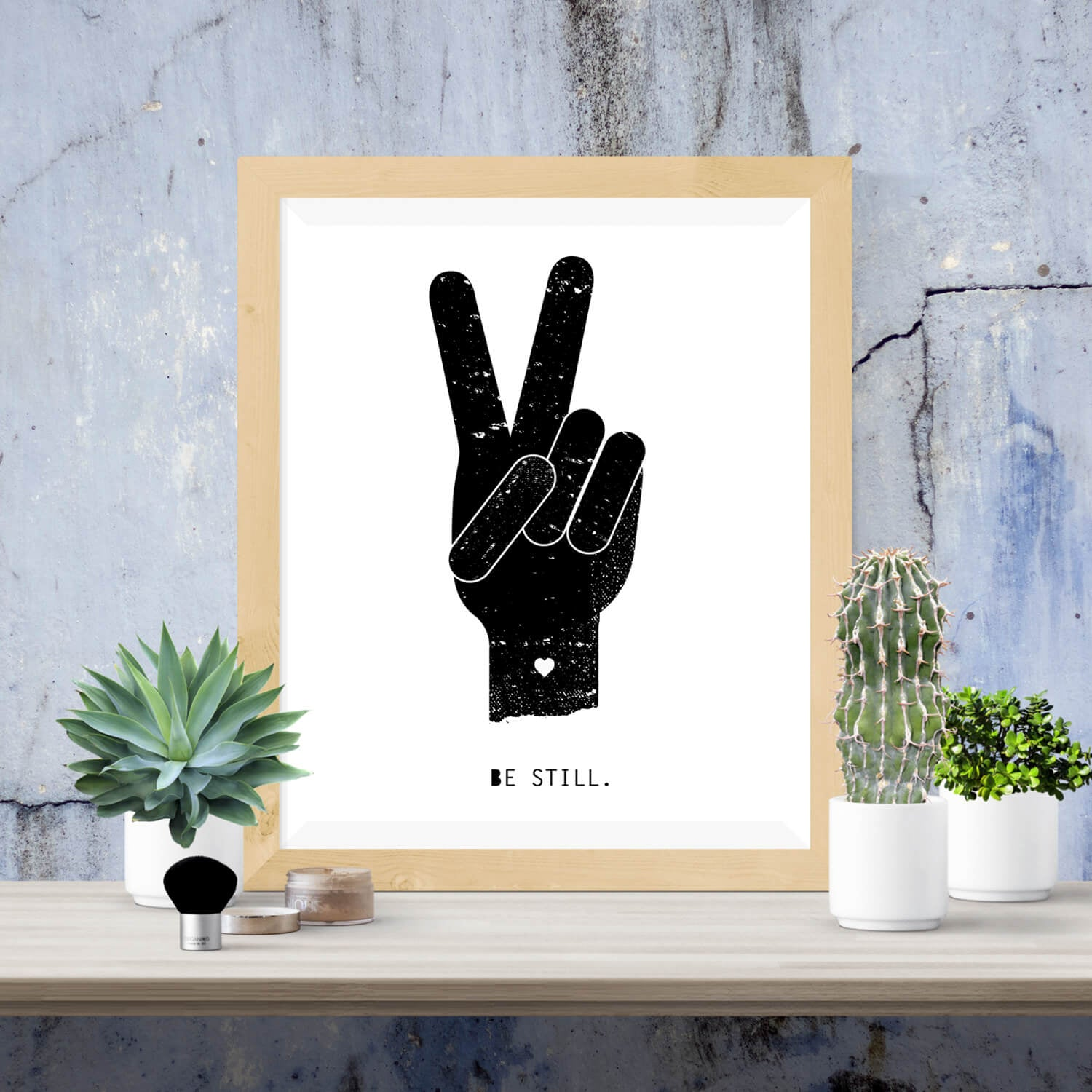 Peace Be Still Print - Vision City Design Studio