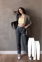 Baggy High Waist Pants Pattern #6005