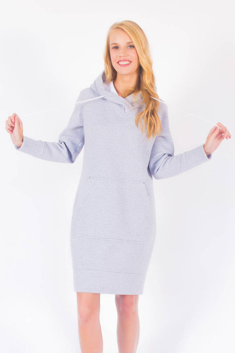 Sweatshirt Hooded Dress #3106