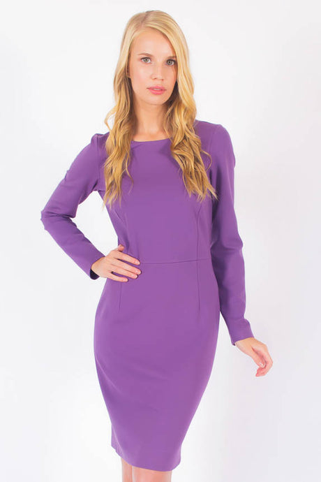 Long Sleeve Knit Dress #3107