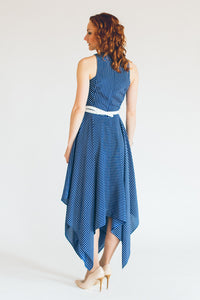 Sleeveless Woven Maxi Dress #1101