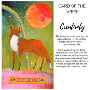 Card of the Week: Creativity