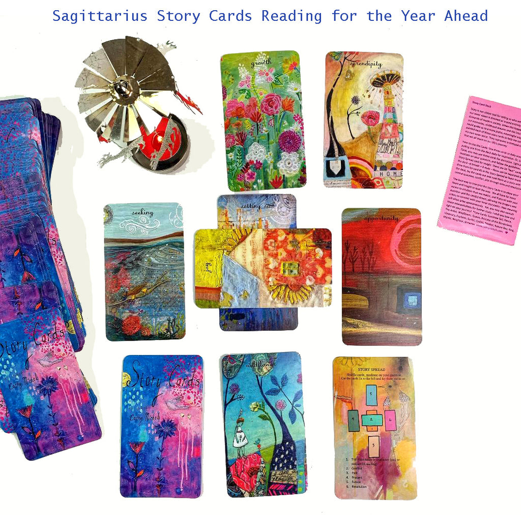"Sagittarius ""Story Cards"" Reading for the Year Ahead"