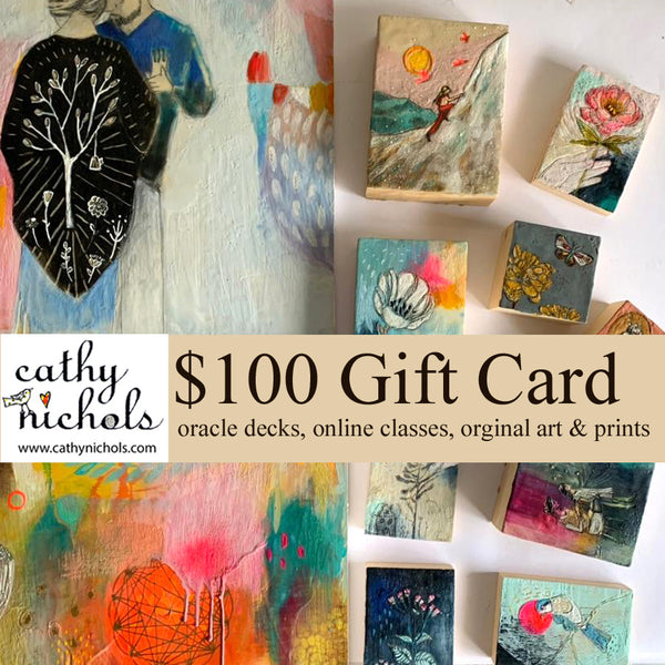 Gift Card $100 for Cathy Nichols Art in Asheville, NC