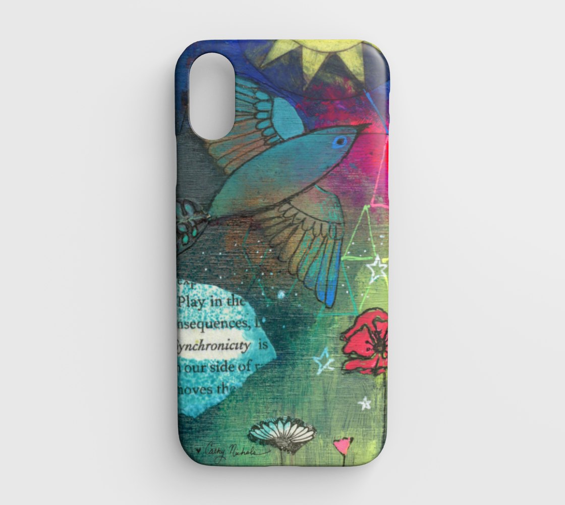 synchronicity iphone xr case